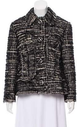 Simone Rocha Boucle Button-Up Jacket w/ Tags