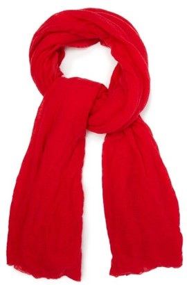 Isabel Marant Zephyr Cashmere Scarf - Womens - Red