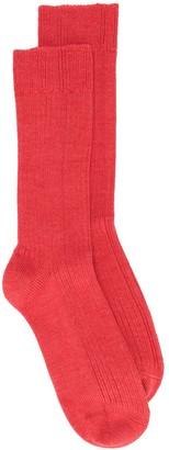 Holland & Holland mid-calf ribbed socks
