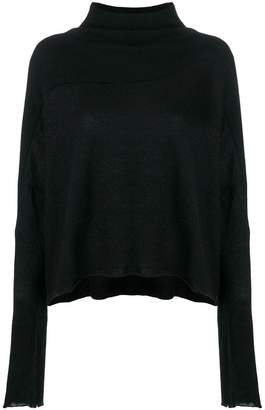 Unravel Project funnel-neck long sleeve sweater