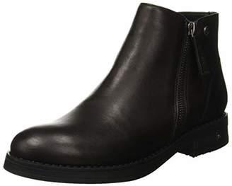U.S. Polo Assn. Women's VIKTORYA Leather Ankle Boots,5.
