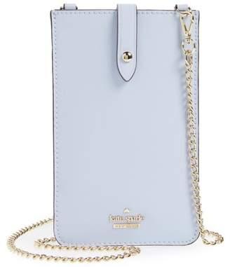 Kate Spade leather iPhone crossbody bag