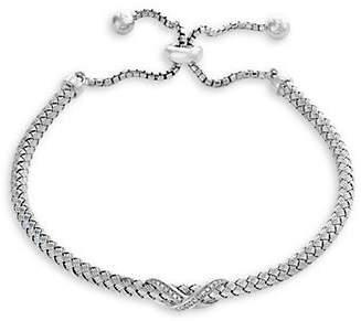 Effy 925 Sterling Silver 0.09 TCW Diamond Bracelet