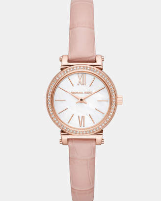 Michael Kors Sofie Pink Analogue Watch