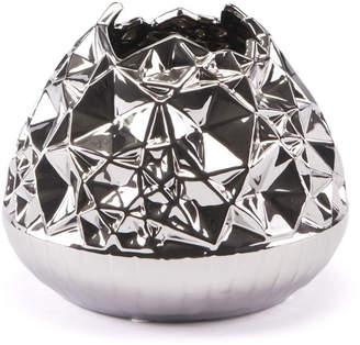 ZUO Line Vase Md Silver