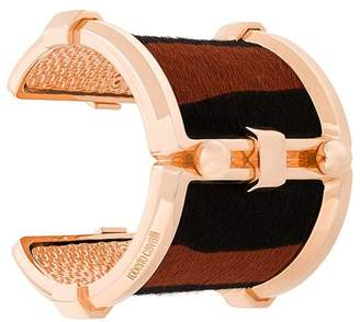 Roberto Cavalli Pony Rock cuff bracelet