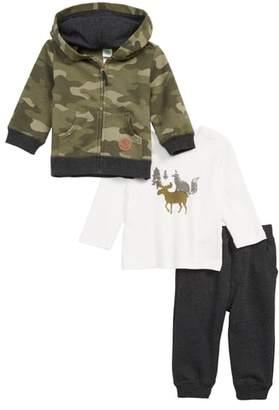 Little Me Camo Shirt, Sweatpants & Zip Hoodie