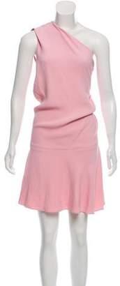 Cushnie et Ochs One-Shoulder Knee-Length Dress