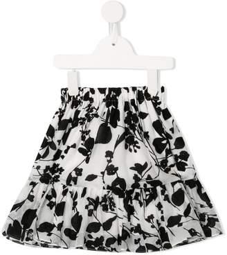 Little Bambah Seville floral ruffle skirt