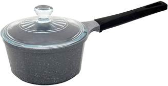 Neoflam Marble Induction Sauce Pan with Glass Lid, 2L