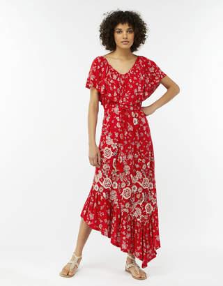 Monsoon Valentina Jersey Asymmetric Hem Dress
