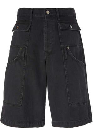 Jacquemus Le Short Pe cheur Denim Cargo Shorts