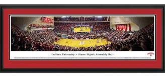 NCAA Blakeway Basketball Arena View Framed Wall Art - Deluxe Frame
