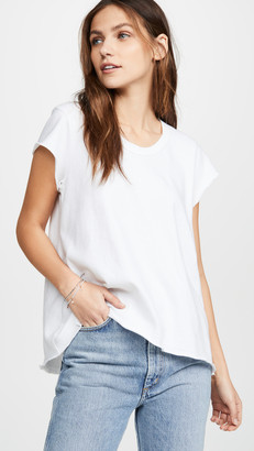 Wilt Soft Sleeve Scoop Tee