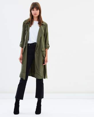 Sass Hailie Longline Trench Jacket