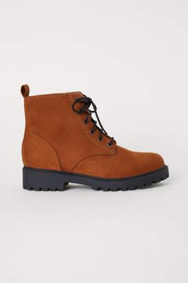 H&M Pile-lined Boots - Orange