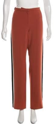Balenciaga Striped Straight-Leg Pants black Striped Straight-Leg Pants