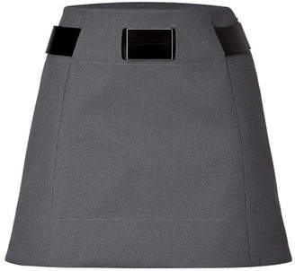 Paco Rabanne Belted A-Line Skirt