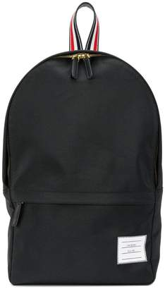 Thom Browne Unstructured Backpack In Nylon Plain Weave