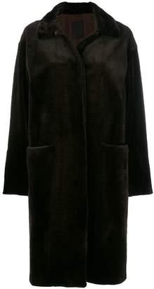 Liska fur cord coat