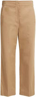 Raey Elasticated-back cotton chino trousers