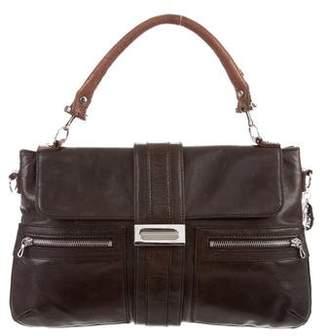 Lanvin Leather Flap Satchel