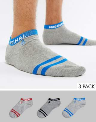 Original Penguin 3 Pack Sock
