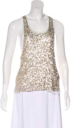 Gryphon Sleeveless Sequin Top