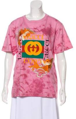 Gucci 2017 Koi Fish T-Shirt