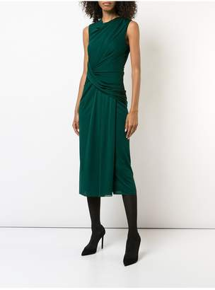 Jason Wu Cowl Neck Draped Sheath Dress