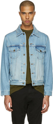 Faith Connexion Indigo Denim Regular Jacket $800 thestylecure.com