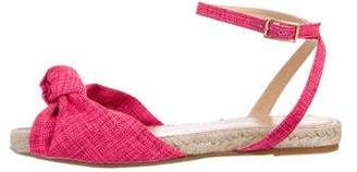 Charlotte Olympia Knotted Espadrille Sandals