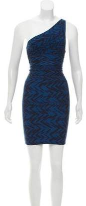 Herve Leger Dangy Bandage Dress