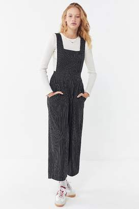 Urban Outfitters Phoebe Pinstripe Pinafore Jumpsuit