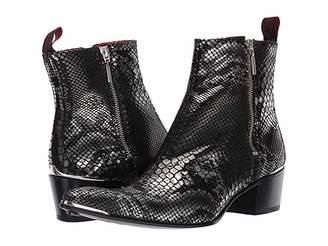 Jeffery West Sylvian Double Metal Zip Boot
