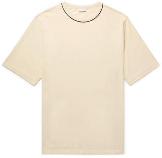 Dries Van Noten Oversized Piped Cotton-Jersey T-Shirt