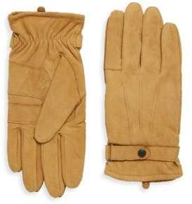 Barbour Snap Leather Gloves