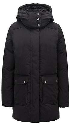 HUGO BOSS Down-filled water-repellent parka with detachable hood