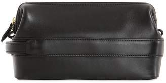 Ohba Leather Toiletry Bag