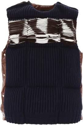 Calvin Klein Vest With Wool Front