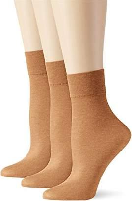 Elbeo Women's AS 20 Nachtglanz 3er Pack Socks, 20 Den,5 pack of 3
