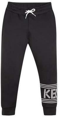 Kenzo Logo Drawstring Lounge Pants, Size 8-12