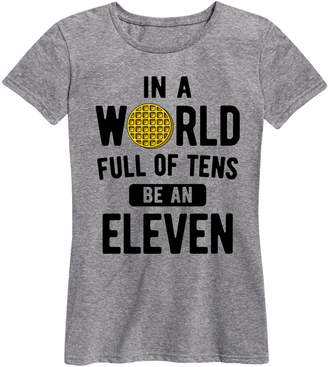 Eleven Paris Instant Message in A World of Tens Ladies Short Sleeve Classic Fit Tee