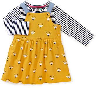 John Lewis Floral Dress and T-Shirt Set, Yellow