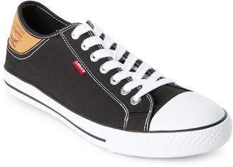 Levi's Black & White Stan Buck Low Top Sneakers