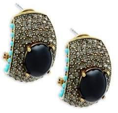 Heidi Daus Swarovski Crystal Statement Earrings