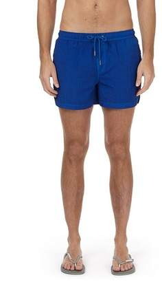 Burton Mens Washed Blue Regular Pull On Swimshorts