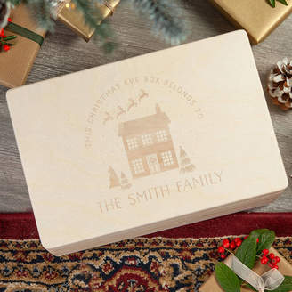 Keepsake norma&dorothy Christmas Eve Box Personalised Family Christmas House