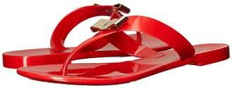 Salvatore Ferragamo PVC Thong Women's Sandals