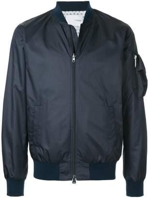 Yoshio Kubo Yoshiokubo Shibori reversible bomber jacket